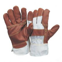 Pad leather gloves XL